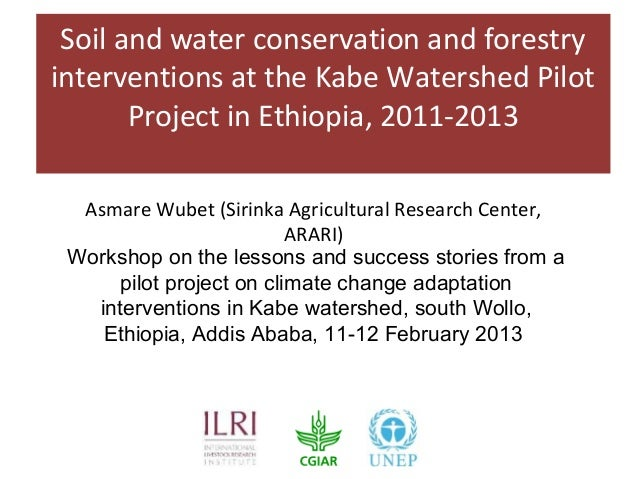 Soil and water conservation and forestry interventions at for Soil and water conservation