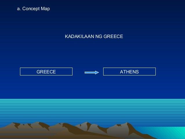 KADAKILAAN NG GREECE GREECE ATHENS a. Concept Map