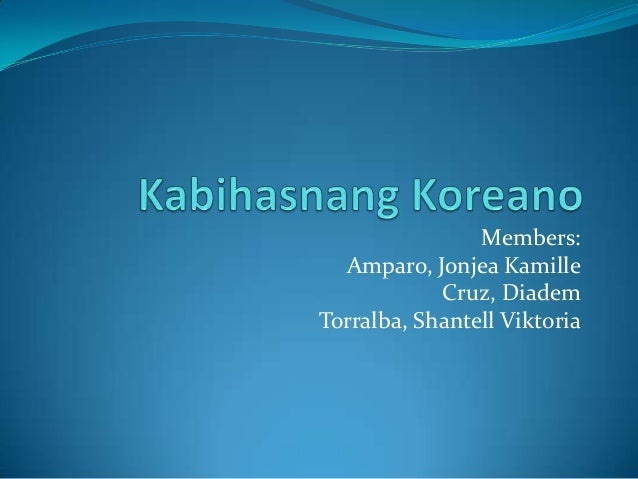 Members: Amparo, Jonjea Kamille Cruz, Diadem Torralba, Shantell Viktoria