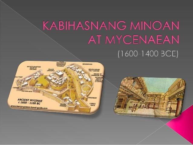 Ang unang kabihasnang nabuo sa Crete ay tinawag na Minoan na hango sa pangalan ng tanyag na hari ng pulo,si Minos.Si Minos...