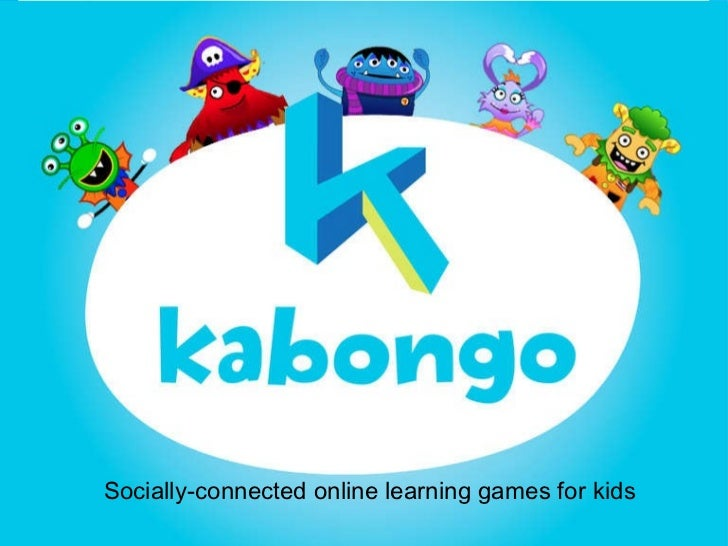 Socially-connected online learning games for kids