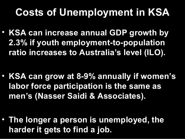 Implementing a Job Guarantee Program in Saudi Arabia