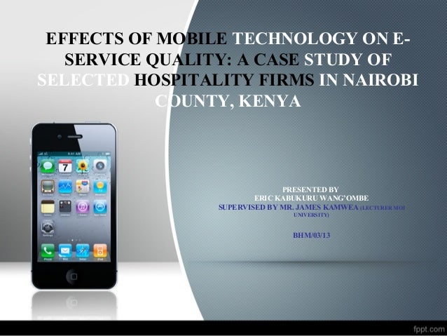 effects of mobile technology
