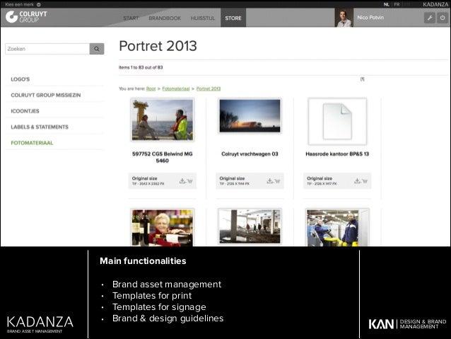 The Kadanza platform is designed, developed and operated by KAN Communication Design cvba Antwerp, Belgium ! The Kadanza p...