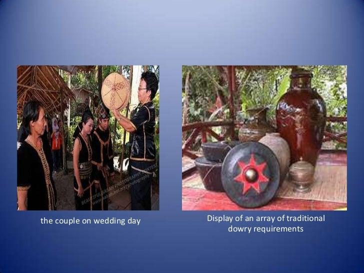 Kadazan wedding