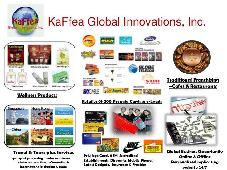 KaFfea Global Innovations, Inc.                                                                                    Traditi...