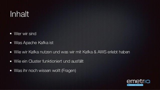 Moritz Siuts & Robert von Massow - Data Pipeline mit Apache Kafka - code.talks 2015 Slide 2