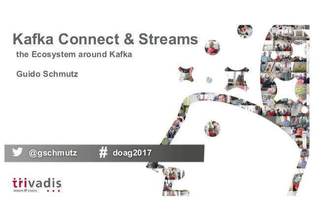 Kafka Connect & Streams - the ecosystem around Kafka