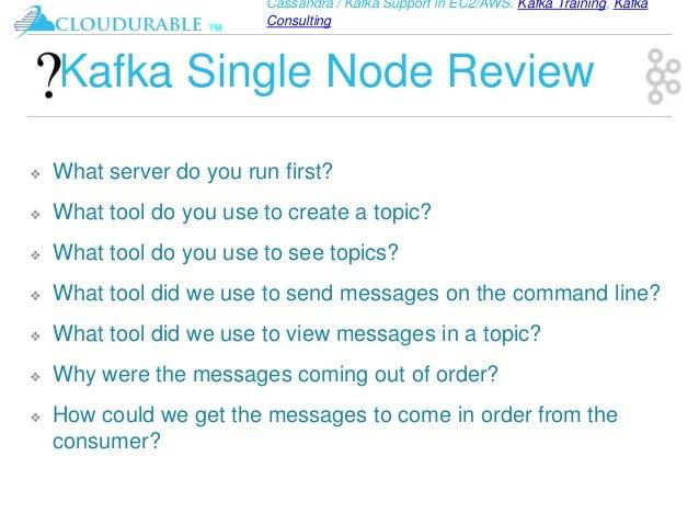 Kafka Tutorial, Kafka ecosystem with clustering examples