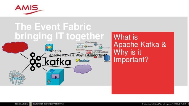 What is Apache Kafka & Why is it Important? The Event Fabric bringing IT together What is Apache Kafka & Why is it Importa...