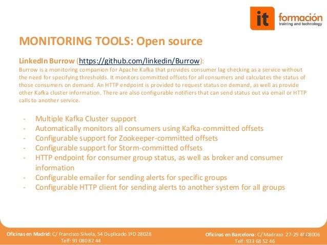 Kafka infrastructure monitoring