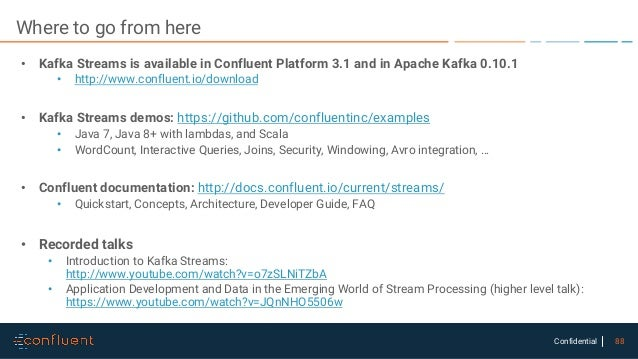 Proof Of Concept Using Kafkastreams And Ktables Manual Guide