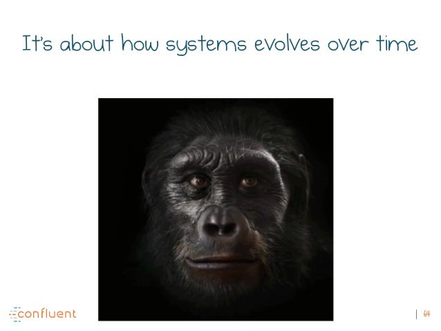 64 It's about how systems evolves over time