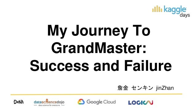 My Journey To GrandMaster: Success and Failure 詹金 センキン jinZhan
