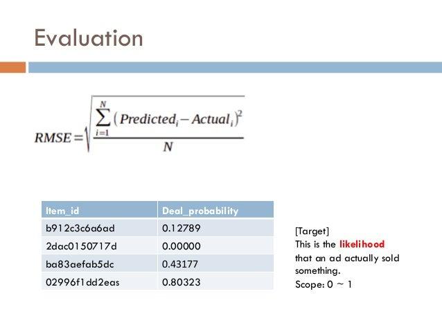Kaggle Avito Demand Prediction Challenge 9th Place Solution