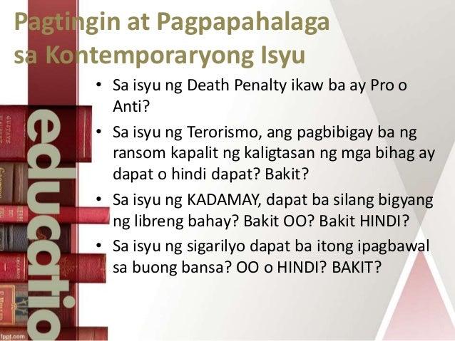 Kahalagahan ng pag aaral ng mga kontemporaryong isyu