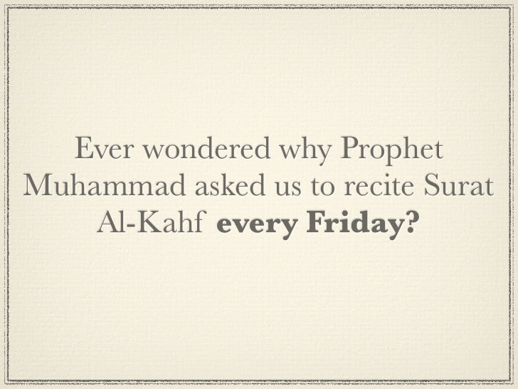 Secrets of Surat Al-Kahf Slide 3