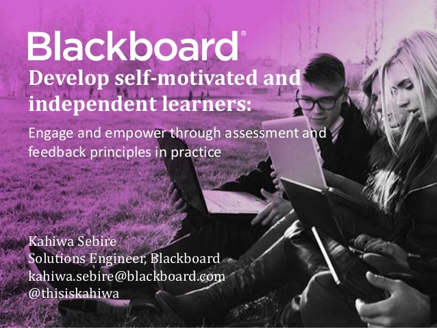 Developing Self-Motivated, Lifelong Learners