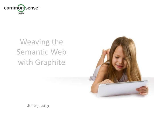 June 5, 2013Weaving theSemantic Webwith Graphite