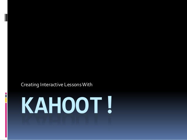 How to search for kahoots