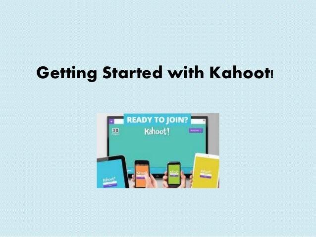 Kahoot powerpoint tutorial