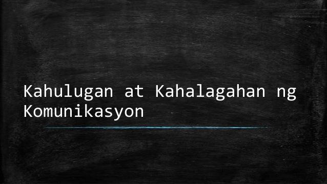 Kahulugan at Kahalagahan ng Komunikasyon