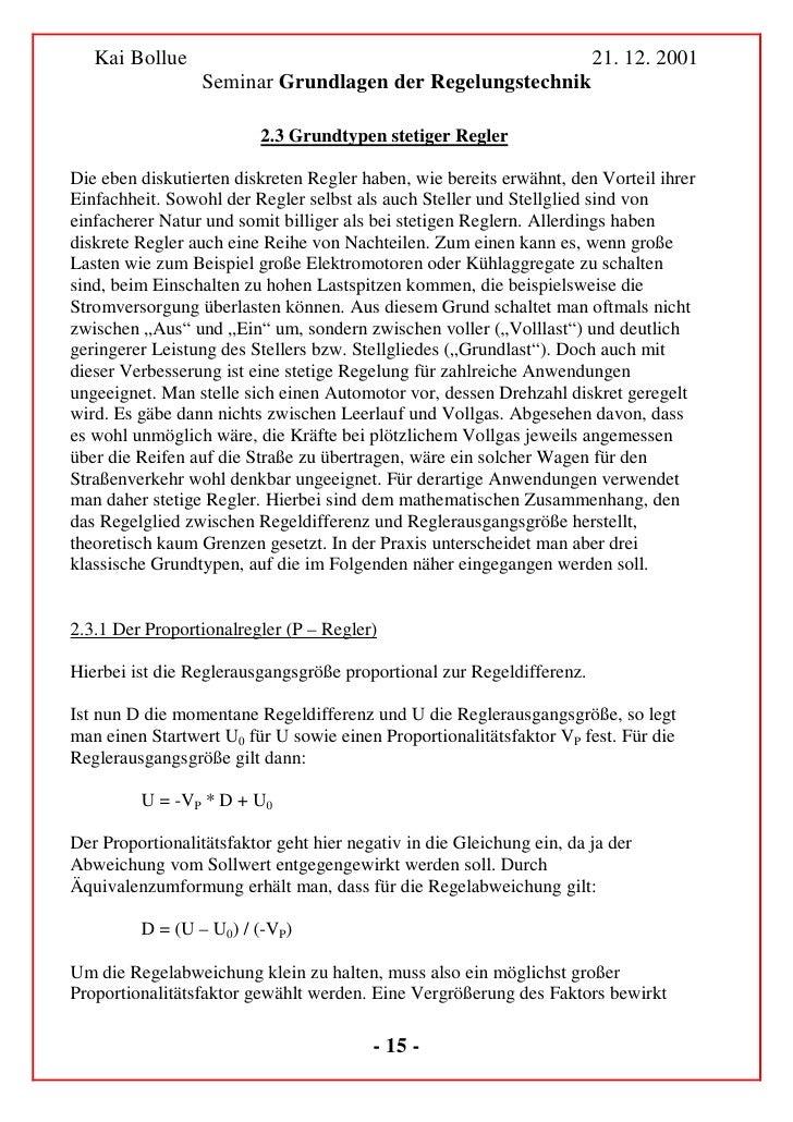 Kai Bollue                                                          21. 12. 2001                   Seminar Grundlagen der ...