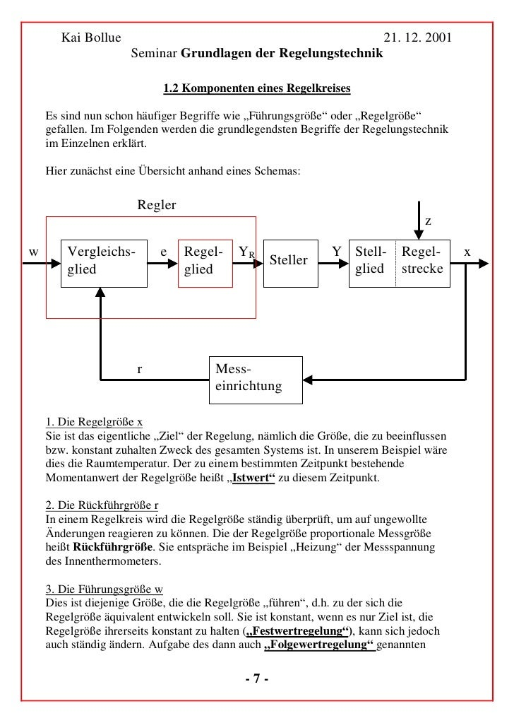 Kai Bollue                                                         21. 12. 2001                      Seminar Grundlagen de...