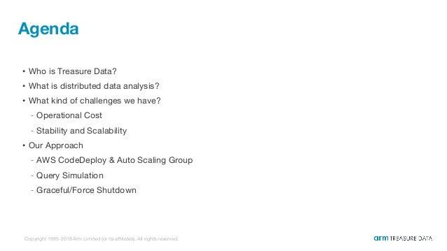 Infrastructure for auto scaling distributed system Slide 3