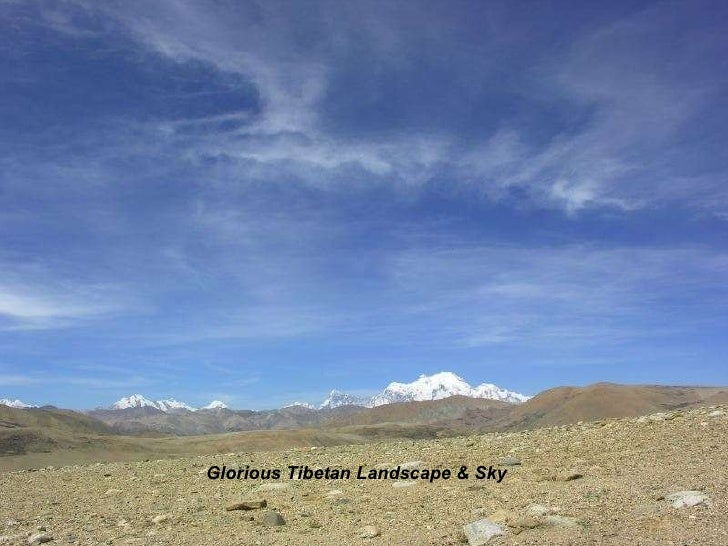Glorious Tibetan Landscape & Sky