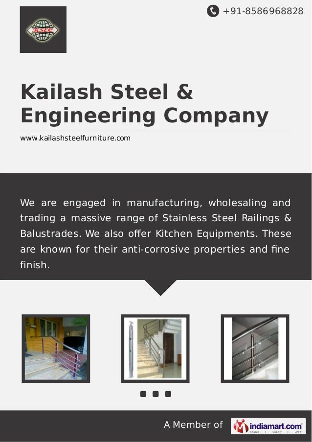 +91-8586968828 A Member of Kailash Steel & Engineering Company www.kailashsteelfurniture.com We are engaged in manufacturi...