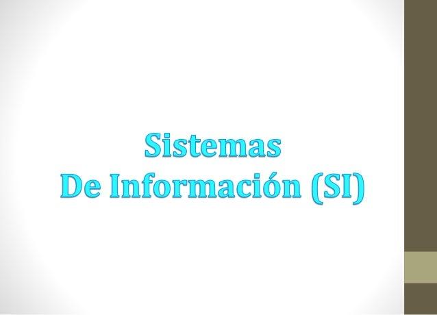 Los sistemas de información son importantes  medios de apoyo en todo el ámbito empresarial ,  siendo parte vital para el b...