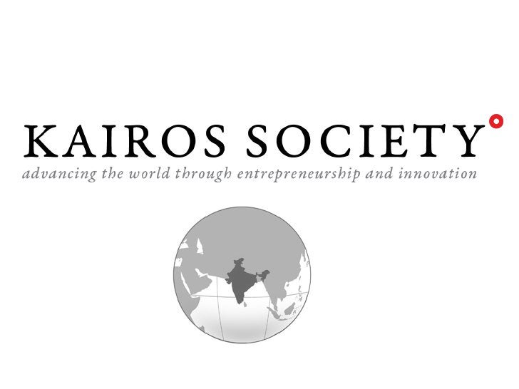 The Kairos Society aims to catalyze aneconomy of innovation by fostering aglobal community of top studententrepreneurs and...