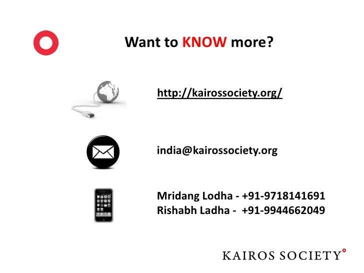 Kairos Society India