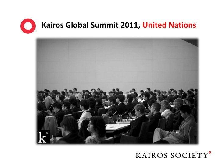 Kairos Global Summit 2011 Executive Team
