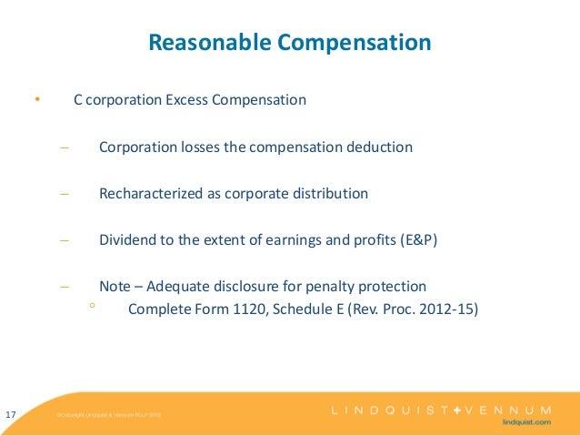 Kaiser Corp Tax Update 2012