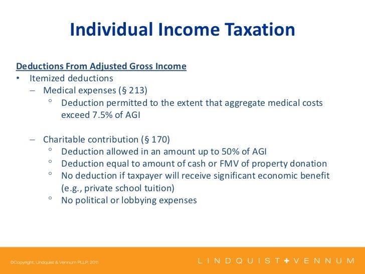 Kaiser Individual Income Taxation Slides