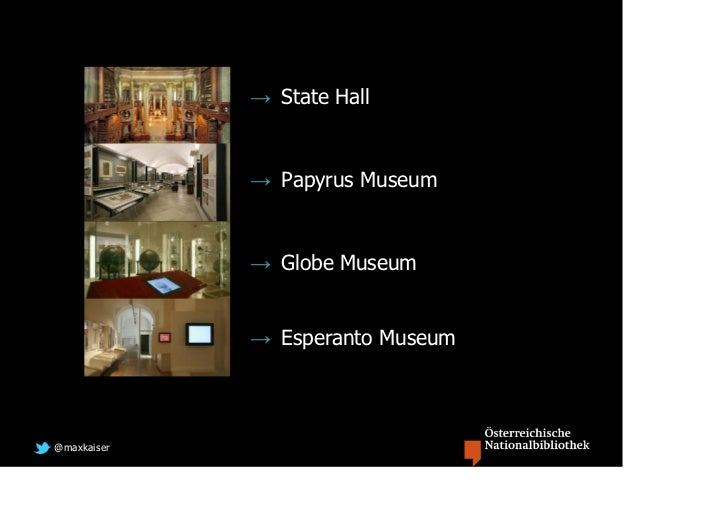 → State Hall             → Papyrus Museum             → Globe Museum             → Esperanto Museum@maxkaiser
