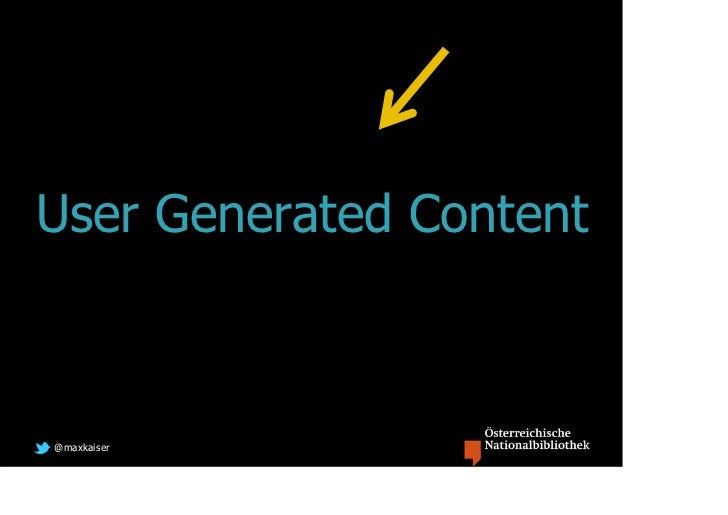 User Generated Content@maxkaiser