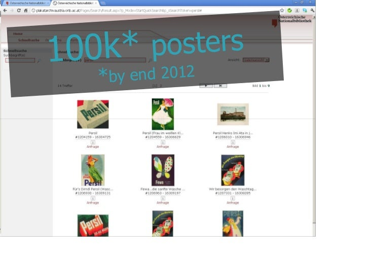 100k*         posters             * by end 2012@maxkaiser
