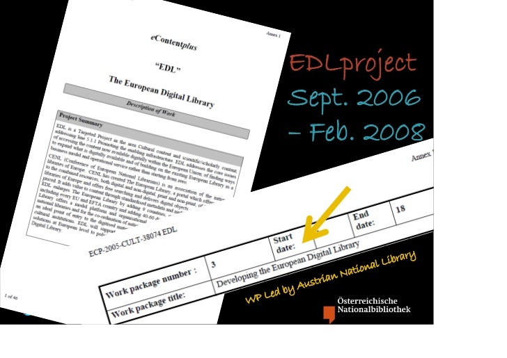 EDLproject                       Sept. 2006                       – Feb. 2008                                             ...