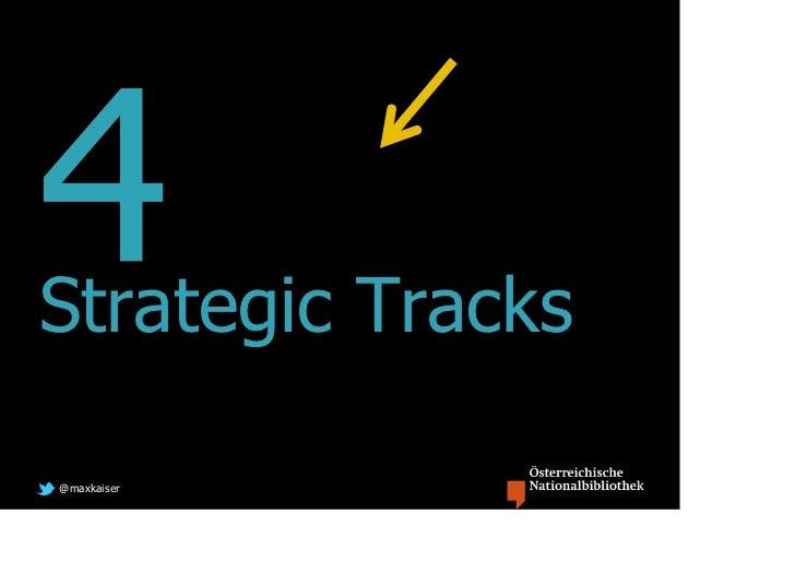 Strategic Tracks@maxkaiser
