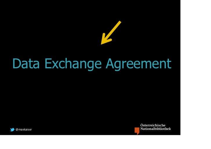 Data Exchange Agreement@maxkaiser