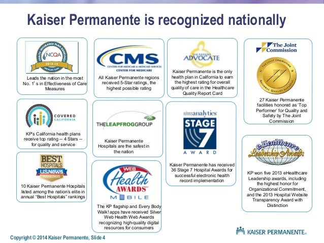 kaiser permanente vision and mission statements