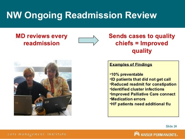 Kaiser permanente transition care