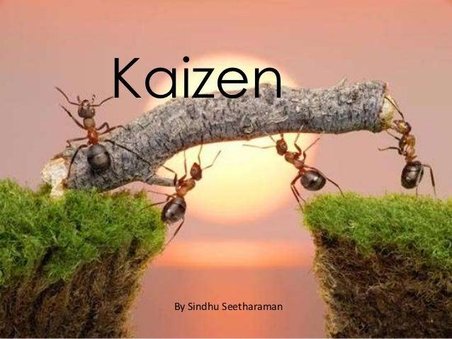 Kaizen  By Sindhu Seetharaman