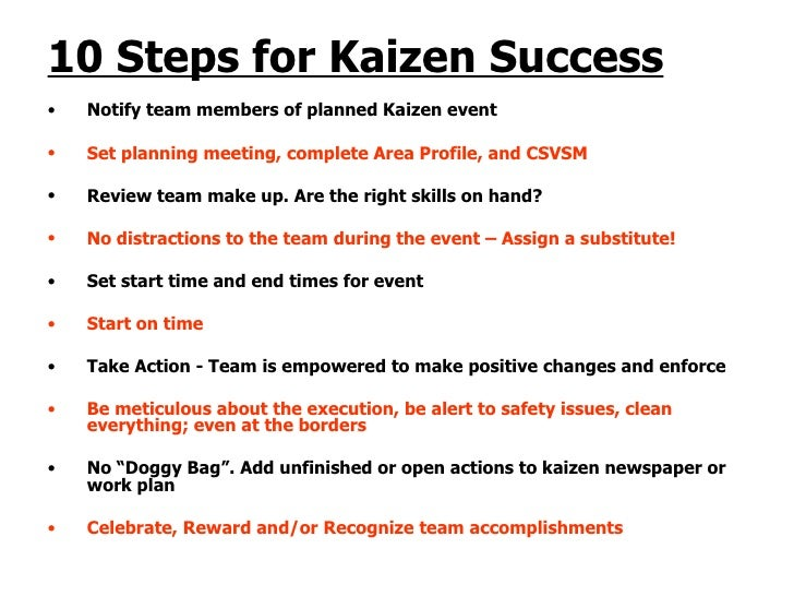 10 Basic Steps Of Kaizen Home Design 2017