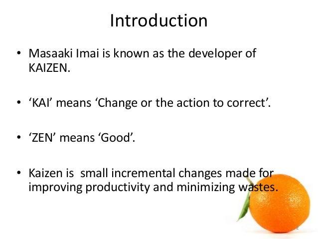 kaizen ppt presentation