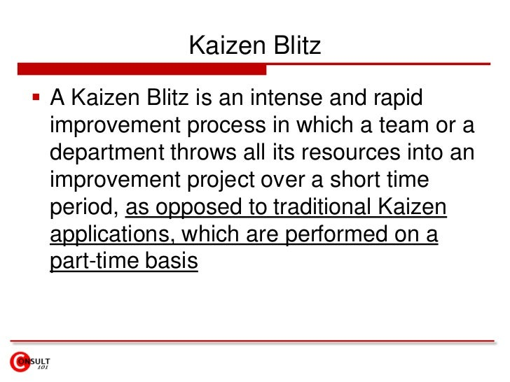 Kaizen Methodology