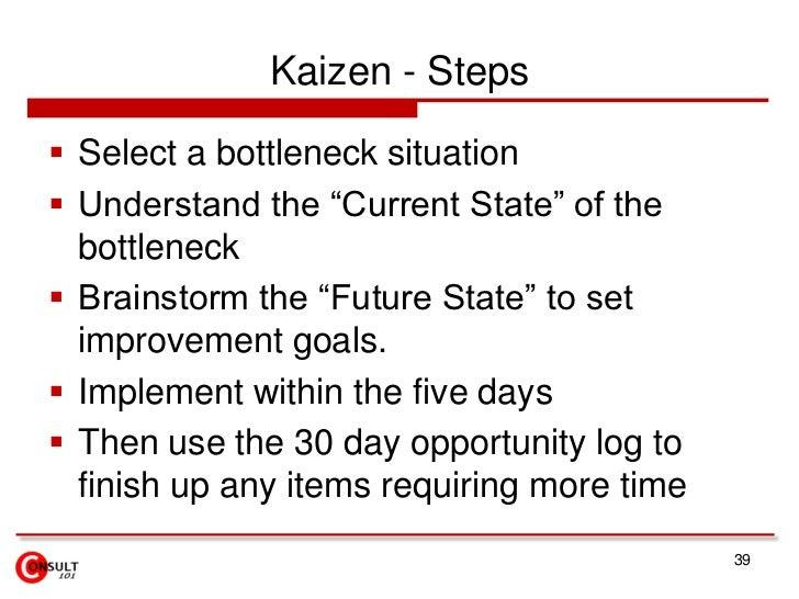 Finalise New Standard Process